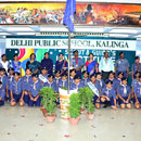Investiture Ceremony of Scouts & Guides, Chief Guest National Leader Trainer of Scouts, MR. Ambika Prasad Das